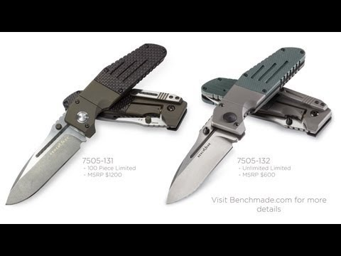 benchmade - Benchmade's New 7505-131 and 7505-132
