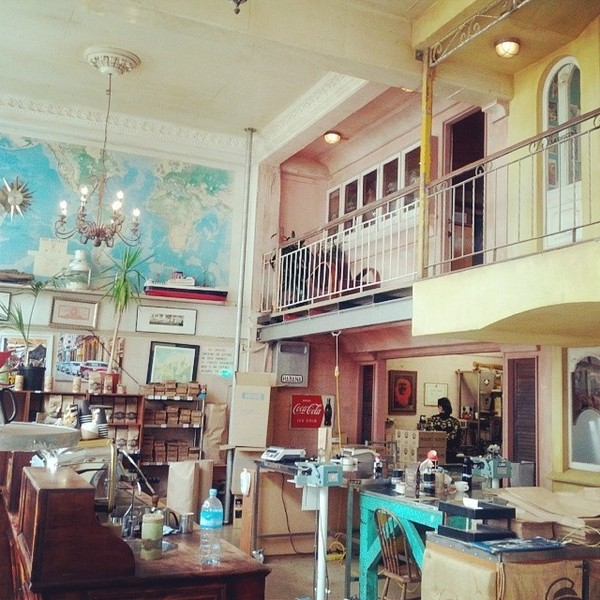 COFFEEUFEEL - #havanacoffeeworks a haven for #coffee aficionados. #cubandecor